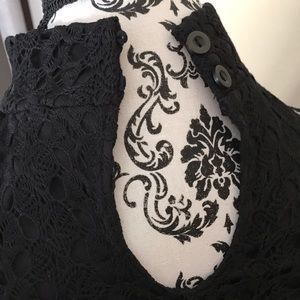 Dresses - No Boundaries High Neck Lace Dress